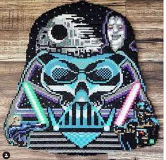 Pearler Beads, Fuse Beads, Perle Hama Star Wars, Pixel Art Grid, Kandi Patterns, Perler Bead Art, Game Room, Starwars, Art Ideas