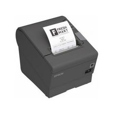 Epson Thermal Receipt Printer with Power Supply, Energy Star Rated, Ethernet and USB Interface, Black. Ethernet and USB interface. With power supply. Usb, Thermal Printer, Energy Star, Le Point, Buy Tickets, Epson, Computer, Mini, Point Of Sale