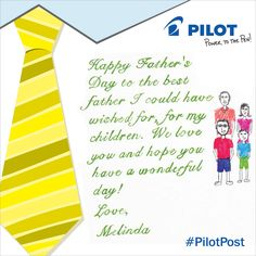 Happy Father's Day from Melinda!