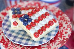 Super fun way to do a last minute 4th of July cookie (though we think it's great all summer)