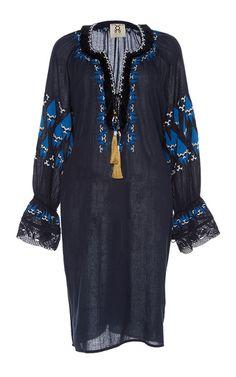 Figure SS17 - Embroidered Melita Mini Dress