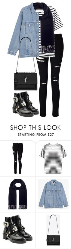 """Untitled #3254"" by elenaday on Polyvore featuring Miss Selfridge, Acne Studios, Monki, Balenciaga and Yves Saint Laurent"