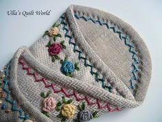 Ullas Quilt World: Scissor case quilt   PATTERN
