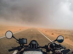 MOBILE REBELS - Confronted with a sandstorm @bizoo_n and his co-pilot didn't turn back while adventuring through the Sahara desert. Would you? Tag a friend you'd ride with for a chance to win a #GoPro face mask for you and your navigator! #GoProTravel by gopro