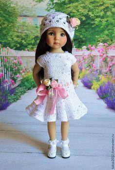 Одежда для кукол ручной работы. НАРЯД ДЛЯ ЛЮБИМОЙ КУКЛЫ. Надежда. Интернет-магазин Ярмарка Мастеров. Платье для кукол