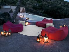 Float Lounge - Would LOVE this on a nice summer night