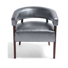 Dumont Chair in Pewter by David Bromstad sold by Grandinroad for $399.