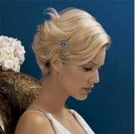 Penteados noiva para cabelos curtos