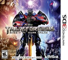 Nintendo 3DS - Transformers Rise of the Dark Spark