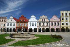 Houses in Telč