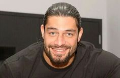 Roman Reigns is sexy as hell and have a beautiful smile ❤