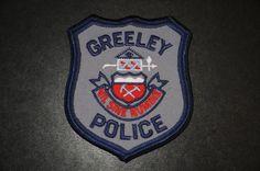 Greeley Police Patch, Weld County, Colorado (Patrol - Vintage)