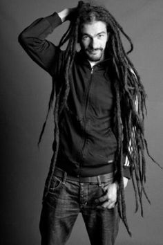 guy with long dreads