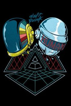 Estampa Camiseta Daft Punk