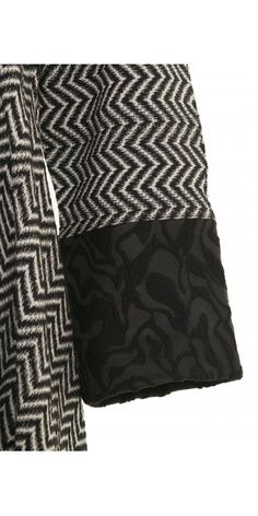 Exquisite Chevron Asymmetric Dress