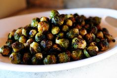 Brussel Sprouts with Balsamic and Cranberries by Ree Drummond / The Pioneer Woman #thanksgiving  I don't like brussel sprouts but these are a hit for the holidays so I'll keep making 'em