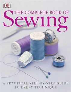 Manual Completo De Costura / Complete Book of Sewing: Todas las Tecnicas Explicadas Paso a paso / A Practical Step-by-Step Guide to Every Technique (Spanish Edition) Sewing Hacks, Sewing Crafts, Sewing Projects, Techniques Couture, Sewing Techniques, How To Make Clothes, Diy Clothes, Sewing Magazines, Sew Ins