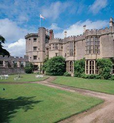 thornbury castle, Thornbury, Cotwolds, UK.  A Tudor Castle Palace boasting the oldest Tudor gardens in England is now a luxury hotel