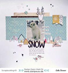 Let it snow by AnkeKramer at @studio_calico