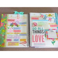 Do all things with love <3 #eclifeplanner #fabfans #ecbloggers @missbelindaxox