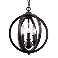 CanadaLightingExperts | Corinne - Three Light Globe Pendant