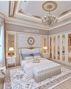 Enhance Your Senses With Luxury Home Decor Luxury Bedroom Design, Bedroom Bed Design, Bedroom Furniture Design, Luxury Home Decor, Luxury Interior, Home Decor Bedroom, Home Interior Design, Luxury Homes, Bedroom Ideas