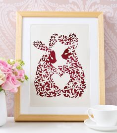 Paper Panda Bunny Project - get your FREE template here!