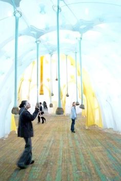 """Scented Playgrounds Ernesto Neto Delves Into Childhood Imagination with His Art"" via Trend Hunter"