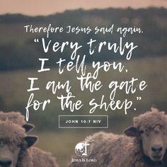 John 10:7 NIV