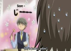 Those funny parts in junjou romantica! XD