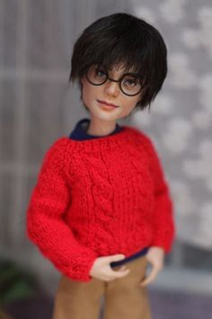 OOAK-Monster-High-doll-Harry-James-Potter