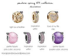 pandora spring 2015 inspiration within Pandora Leather Bracelet, Pandora Bracelet Charms, Pandora Jewelry, Mora Pandora, New Pandora, Pandora Charms Disney, Pandora Collection, Diamond Pendant, Diamond Rings