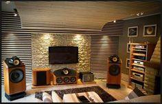 Cinemagic Entertainment setup Custom #AV #Integrated with #lighting, furnishings and audio/video equipment. #Audio #Video #LightingControl