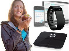 Fitbit Charge Pack - Aria Wifi Smart Scale Charge Wristband - Nový balík originálneho príslušenstva pre Fitness od Fitbit. Kompletné riešenie, ktoré Vám umožní automaticky sledovať vplyv vašej fyzickej aktivity na Vašu hmotnosť. Obsahuje bezdrôtovú váhu Fitbit Aria a monitor aktivity Fitbit Charge, ktorý Vám naviac zobrazí volania priamo na zápästí a zobudí Vás jemnými vibráciami.