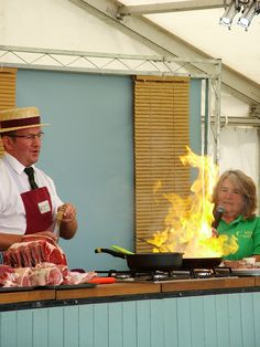 After many years working on the radio, I've been told my face gives me away as to what I'm thinking . piccie is from Cosford Food Festival with the lovely Steve Robinson from Robinson's Butchers Food Festival, Give It To Me, Cooking, Face, Kochen, Faces, Brewing, Facial