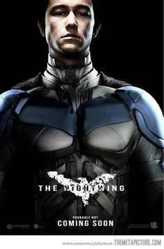 Joseph Gordon-Levitt Batman suit | Awesome concept art Nightwing