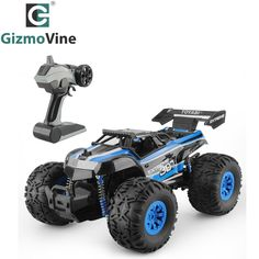 GizmoVine RC Car Monster Truck Car Remote Control Toys Controller Model Off-Road Vehicle Truck Toy For Kids Monster Truck Cars, Toy Trucks, Truck Bed Storage Box, Truck Quotes, Trucks And Girls, Truck Camper, Remote Control Toys, Truck Accessories, Semi Trucks