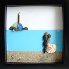 Pebble Art bruiloft cadeau - unieke cadeau - unieke bruiloft overeenkomstengift-Wedding Gift Pebble Art - verjaardag cadeau - paren Gift - pensioen cadeau - liefde geschenken - Pebble mensen - mensen - Pebble rotskunst te vieren en koesteren de speciale gelegenheid; een uitzonderlijke gift die voor de komende jaren zal worden gekoesterd.  ✿ Originele Pebble kunst met een gevoel van romantiek, mysterie en magie. ✿ Komt in 8 x 8 inch zwarte of witte schaduw doos stijl frame, ongeveer 1,5 Inch…