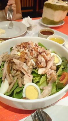Grill chicken salad..