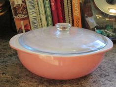 Pyrex PINK 024 2 Quart Casserole by thetrendykitchen on Etsy, $29.95