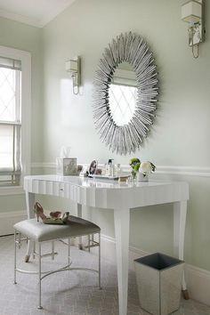 Arteriors Prescott Oval Silver Leaf Large Mirror