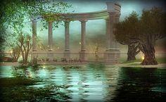 ObscuR'AntiQue - Landscape Second Life