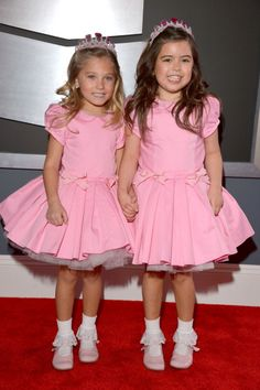 The 55th Annual GRAMMY Awards - Sophia Grace and Rosie