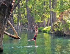 Texas Best Swimming Holes (from Texas Highways Magazine)