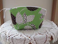 Purse Cosmetic Bag Zipper Clutch Flea Market by Antiquebasketlady, $13.00