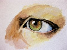 watercolor -good eye to study