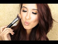 How To Cream Highlight & Contour | Jaclyn Hill - YouTube