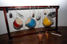 Walter SMETAK. Exposição Smetak Imprevisto   Na foto: Instrumentos criados por Smetak   Foto: Roberto Viana/Agecom