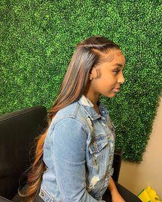 Baddie Hairstyles, Weave Hairstyles, Pretty Hairstyles, Straight Hairstyles, Hairstyle Short, School Hairstyles, Black Hairstyles, Prom Hairstyles, Celebrity Hairstyles