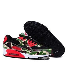 Nike Air Max 90 Camo Men'S Women'S Shoes Best Sale Blue Sneakers, Air Max Sneakers, Sneakers Nike, Air Max 90, Nike Air Max, Camo Men, Air Max Women, Shoes Uk, Leather Men